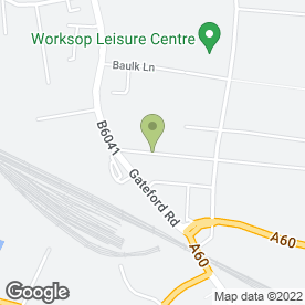 Map of Hobknobs Carpet & Upholstery Cleaning Service in Worksop, nottinghamshire