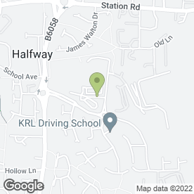 Map of HSBC Bank plc in Halfway, Sheffield, south yorkshire