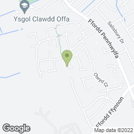 Map of Arrow Electrical & Plumbing Services in Prestatyn, clwyd