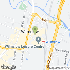 Map of Adora Beauty in Wilmslow, cheshire