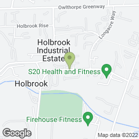Map of Alliance Van Hire Ltd in Holbrook, Sheffield, south yorkshire