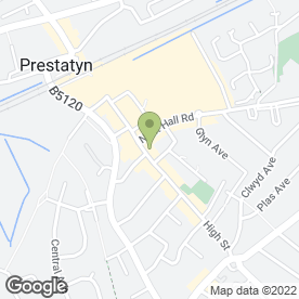 Map of Senior Computers in Prestatyn, clwyd