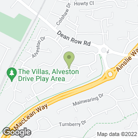 Map of I Drive Motors in Wilmslow, cheshire
