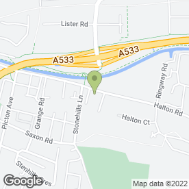 Map of Drivers Direct Recruitment Agency Ltd in Runcorn, cheshire