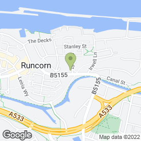 Map of National Tyres and Autocare in Runcorn, cheshire