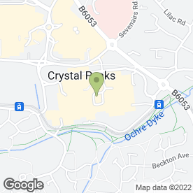 Map of Joe's Ice Cream in Crystal Peaks, Sheffield, south yorkshire