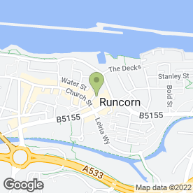Map of Angel Roofing UK in Runcorn, cheshire