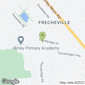 Map of Craig Bramwell Ltd in Sheffield, south yorkshire