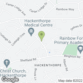 Map of Aquafun Products in Hackenthorpe, Sheffield, south yorkshire