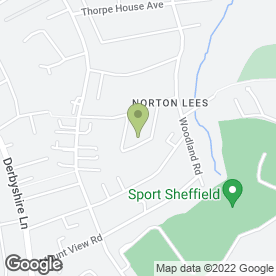 Map of 1st Call David Beatson in Sheffield, south yorkshire
