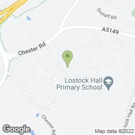 Map of Bricklayer in Poynton, Stockport, cheshire