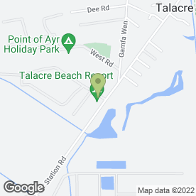 Map of Simply Storage in Talacre, Holywell, clwyd