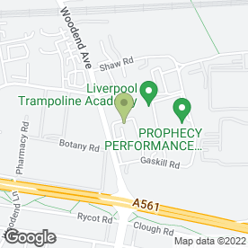 Map of A & M AUTO REPAIRS in Speke, Liverpool, merseyside