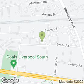 Map of Servicemaster Clean in Liverpool, merseyside