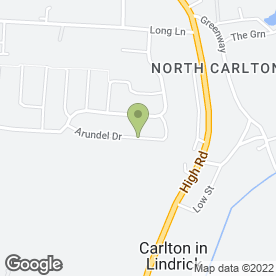 Map of Clean & Dry in Carlton-in-Lindrick, Worksop, nottinghamshire