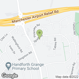 Map of Handforth Dog Groomers in Handforth, Wilmslow, cheshire