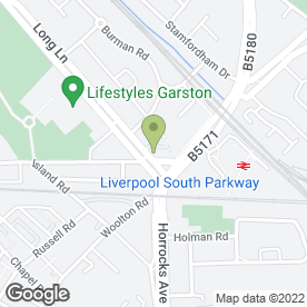 Map of Sizzle Takeaway Ltd in Garston, Liverpool, merseyside