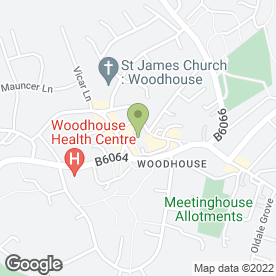 Map of Woodhouse Spice in Sheffield, south yorkshire