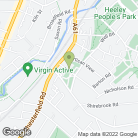 Map of Steve Plain Peugeot Specialist in Sheffield, south yorkshire
