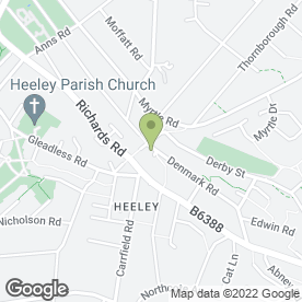 Map of Heat Direct Ltd in Sheffield, south yorkshire