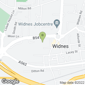 Map of J P Flooring in Widnes, cheshire