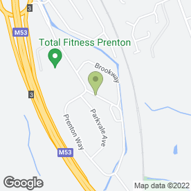 Map of A2B Travel UK Ltd in Prenton, merseyside