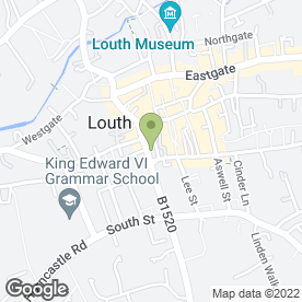 Map of Spinning Wheel Boutique in Louth, lincolnshire