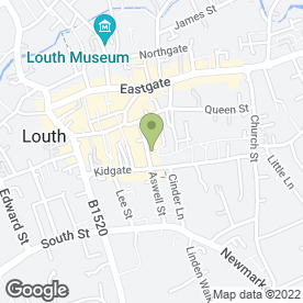 Map of Keith's Kitchens in Louth, lincolnshire