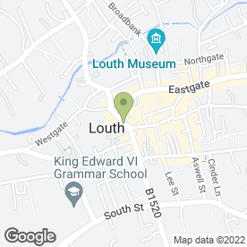 Map of Murdoch Troon Kitchens in LOUTH, lincolnshire