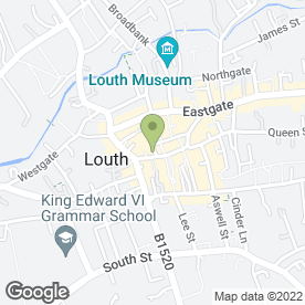 Map of H & J Arts & Crafts in Louth, lincolnshire