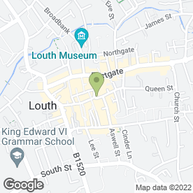 Map of Scotts Jewellers Ltd in Louth, lincolnshire