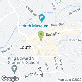 Map of TV Digiview Sheffield in Louth, lincolnshire