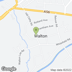 Map of Adele Gilbert Electrolysist in Walton, Warrington, cheshire