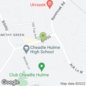 Map of Thresher Wine Shop in Cheadle Hulme, Cheadle, cheshire