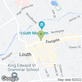 Map of Stevens Property Management Ltd in Louth, lincolnshire