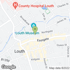 Map of Playhouse Cinema in Louth, lincolnshire