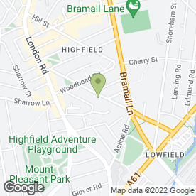 Map of Discount Beds in Sheffield