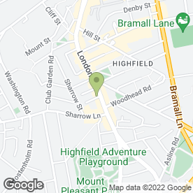 Map of Ricman Blinds in Sheffield, south yorkshire