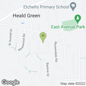 Map of Marc1heating Ltd in Heald Green, Cheadle, cheshire