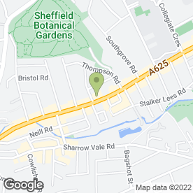 Map of Wilkin Alarms Ltd in Sheffield, south yorkshire