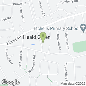 Map of Talking Tots East Cheshire in Heald Green, Cheadle, cheshire