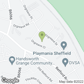Map of Rentokil Property Care in Sheffield, south yorkshire