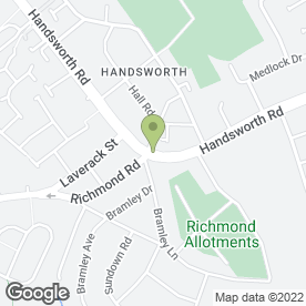 Map of Unicorn Crafts in Handsworth, Sheffield, south yorkshire