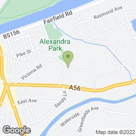 Map of Warrington Self Defence Academy in Stockton Heath, Warrington, cheshire