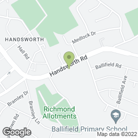 Map of Decorative Chairs in Handsworth, Sheffield, south yorkshire