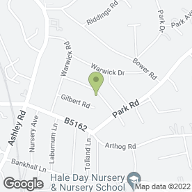 Map of P.S PLUMBING & HEATING in Hale, Altrincham, cheshire
