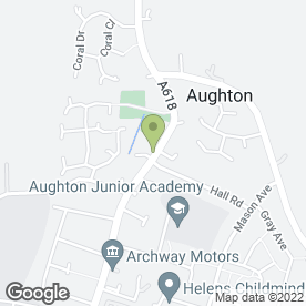 Map of The Black Bull in Aughton, Sheffield, south yorkshire