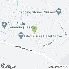 Map of Ian Watts in Hazel Grove, Stockport, cheshire