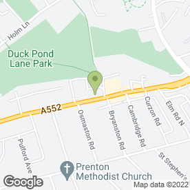 Map of Louise Fox Beauty & Massage in Birkenhead, merseyside