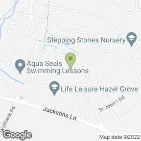 Map of The Health & Beauty Co in Hazel Grove, Stockport, cheshire